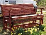 photos of Cedar Bench